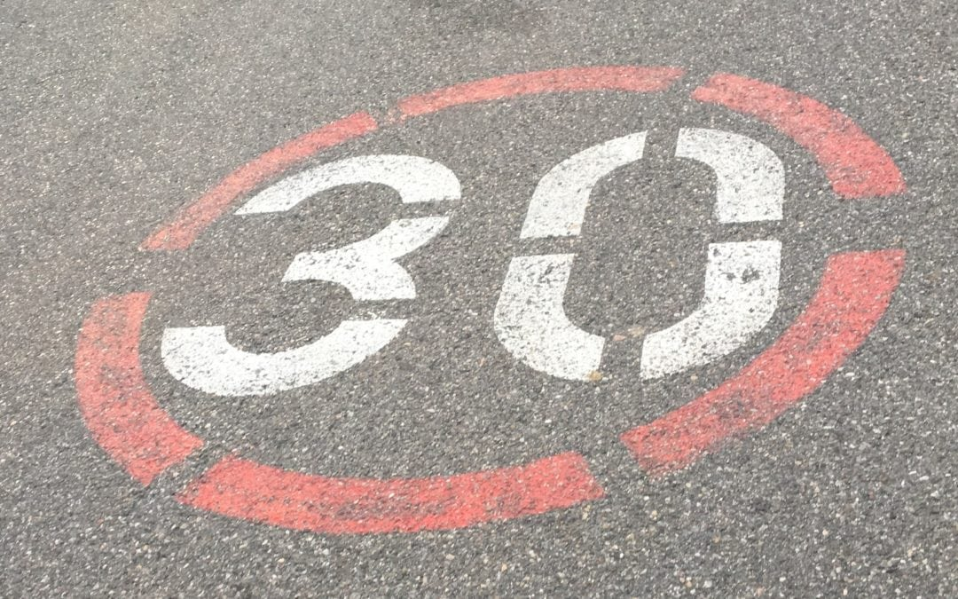 Mons réduira la vitesse à 30 km/h dans les quartiers résidentiels