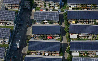Champs photovoltaïque à Nimy, Maisières et Saint Denis