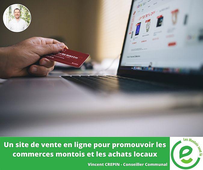Un site de vente en ligne pour promouvoir les commerces montois et les achats locaux